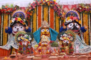 Jagannath, Subhadra and Balaram