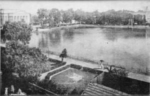 Old Picture of College Square with The Senate Hall and Sanskrit College