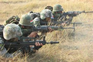 ARMY IN ACTION