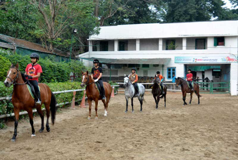 Tolly Club Horse Riding Training