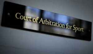 the court of arbitration for sports