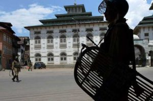 curfew lifted from the kashmir