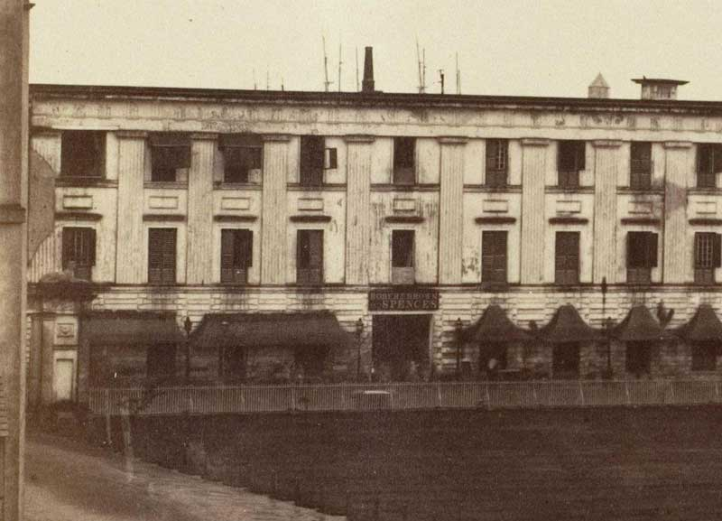 Spence's Hotel 1858- 1861