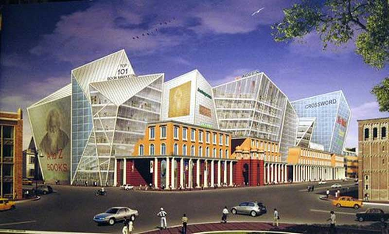 The proposed mall varnaparichay - Artist-Impression