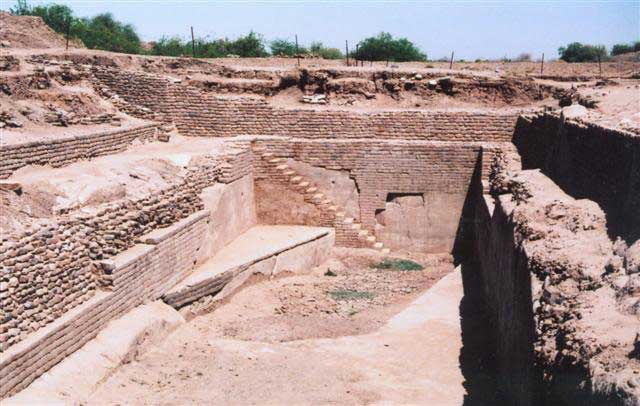 Dholavira water reservoir