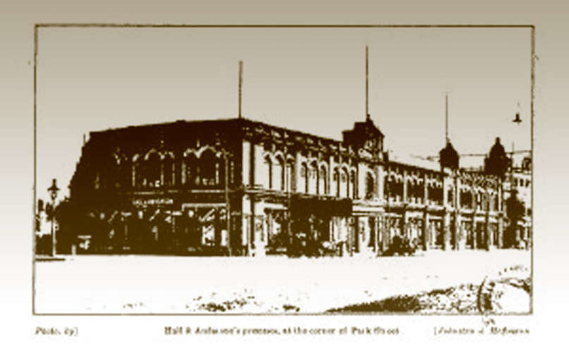 Hall and Andersons premises - 1925