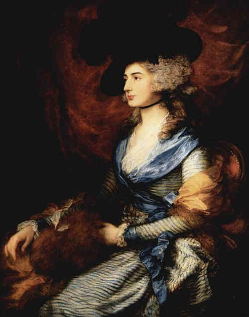 Image of Mrs. Sarah Siddons, who strongly  resembled Esther Leach