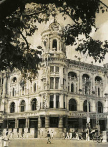 Old Picture of Whiteways and Laidlaw Building Calcutta