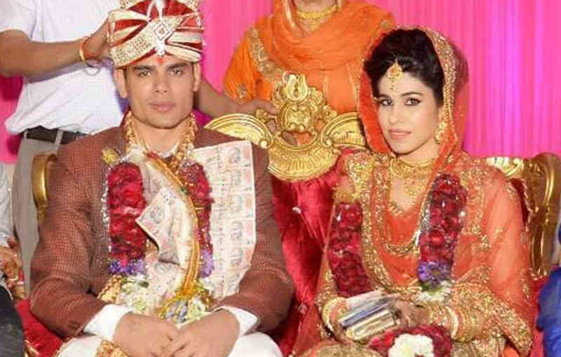 rohit kumar and his wife