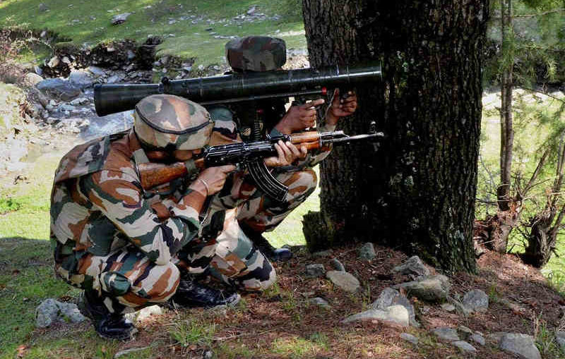 one terrorist killed in Kashmir's Shopian