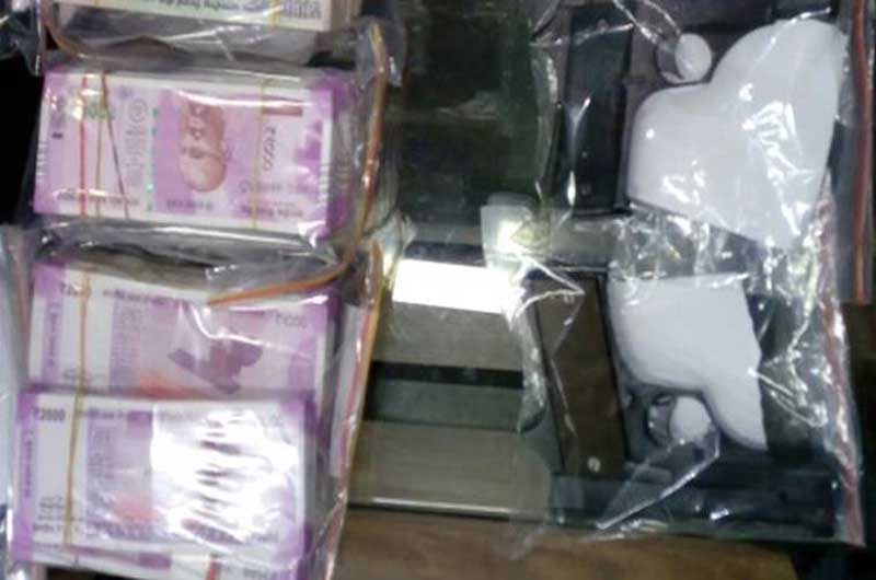 police recovered cash and arms