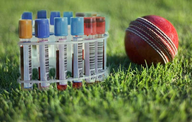 dope test of cricketers