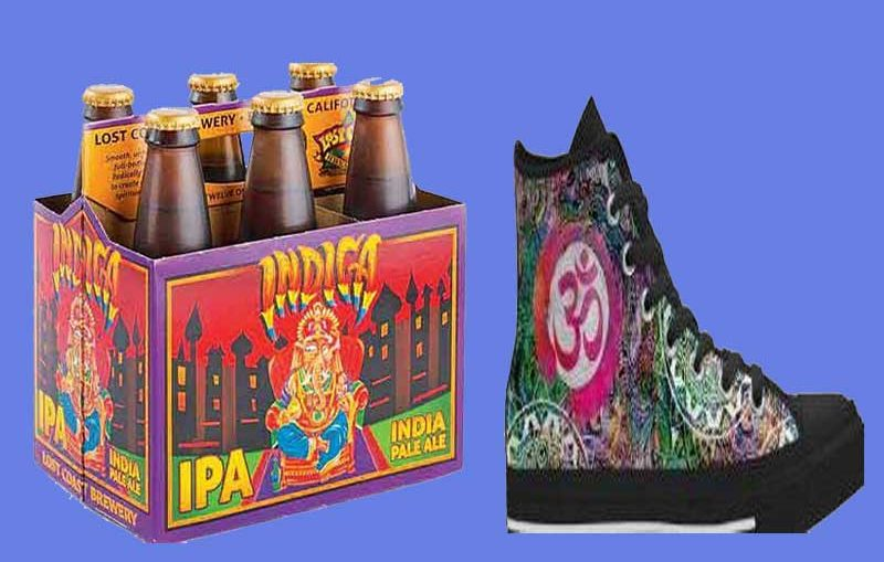 beer and shoe