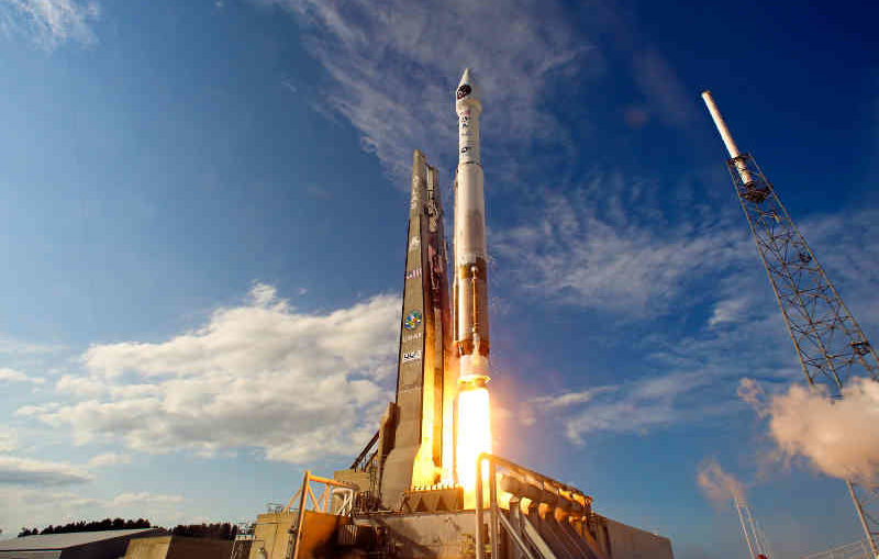 Launch of Atlas V SBIRS GEO-2 from Cape Canaveral AFS