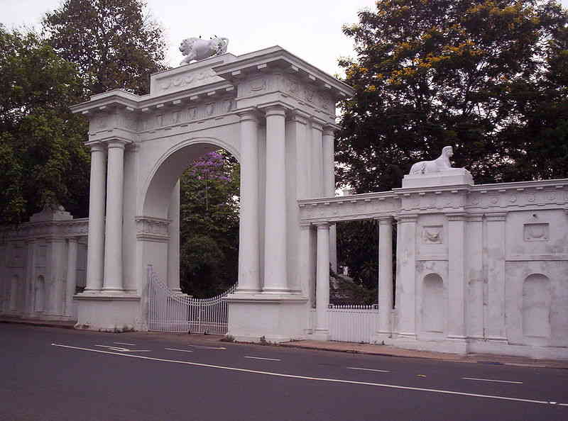 Arched Gate of Raj Bhavan