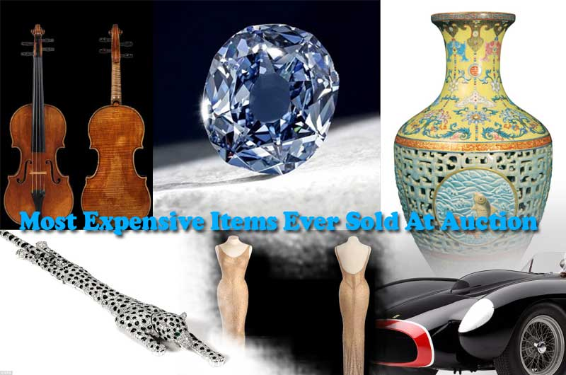Costly Affairs 20 Most Expensive Items Ever Sold At Auction