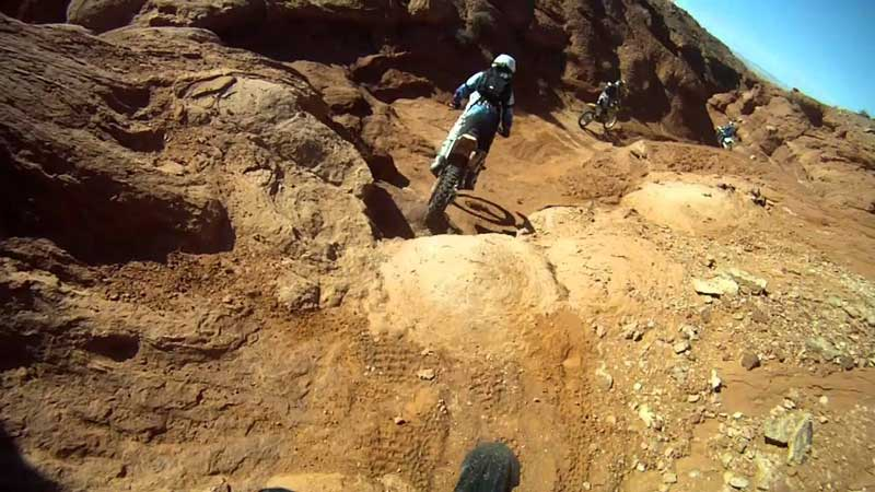 dirt biking