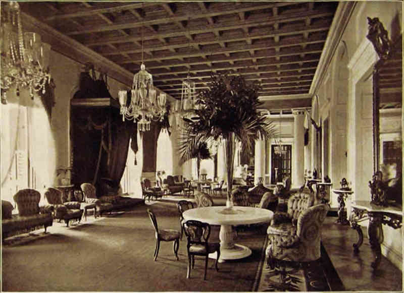 Interior of Raj Bhavan