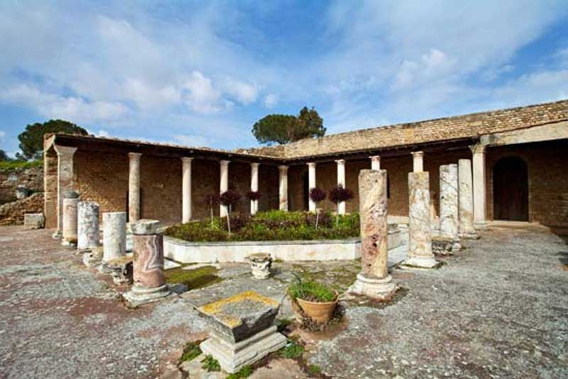 The Remains of a Roman villa