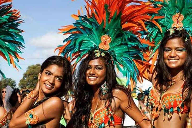 Festivals Caribbean are Holiday and Party Time - King Goya