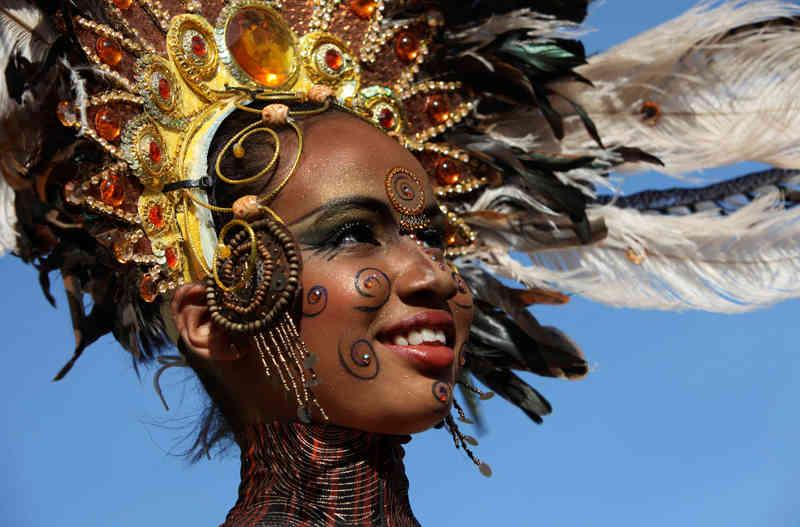 Trinidad & Tobago Carnival - Decorated Head Gear