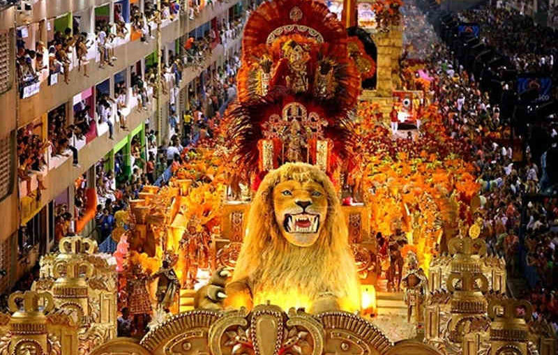 Trinidad & Tobago Carnival Lion Float
