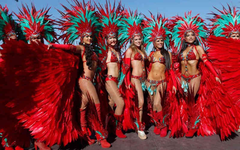 Trinidad & Tobago Carnival Hearts Band Parade