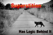 superstitions has logic behind it