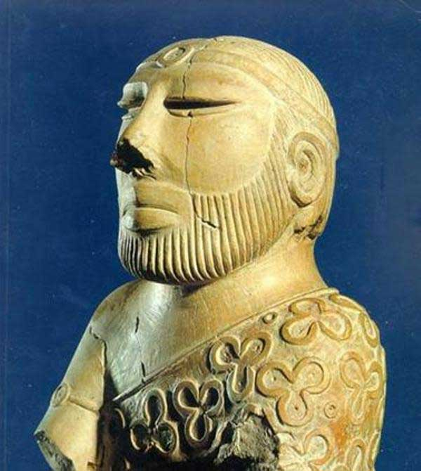 The Priest-King - Excavated from Mohenjo-Dao