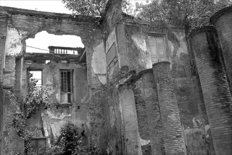 Ruins of Clive House