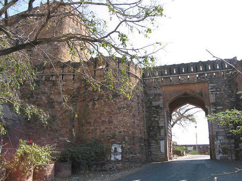 A gate of the Fort