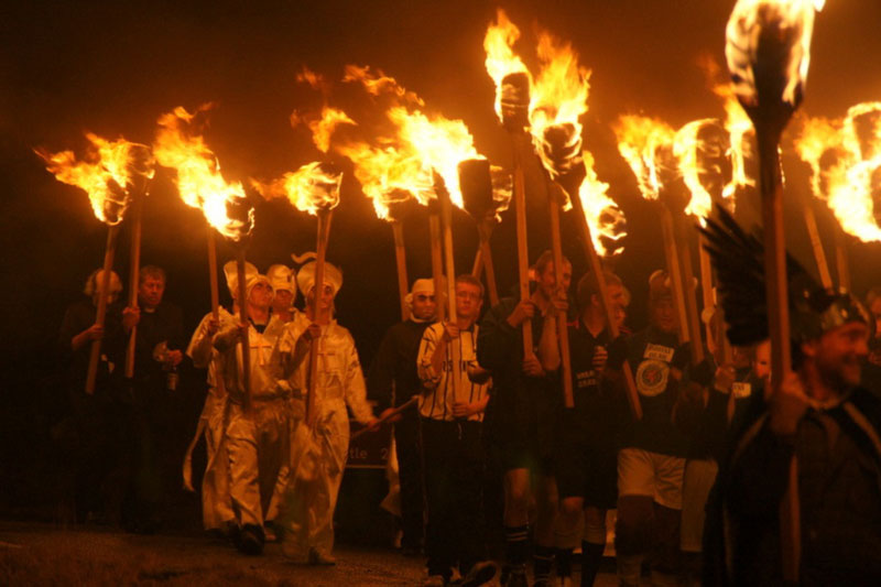 Up Helly Aa Fire 02