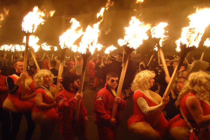Up Helly Aa Fire 03
