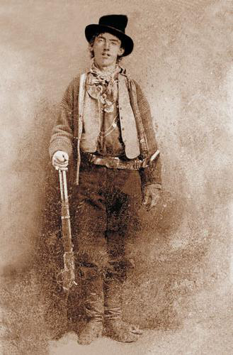 Billy The Kid by an unknown person (1879-80)