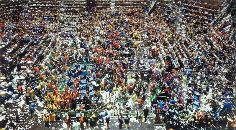 Chicago Board of Trade III by Andreas Gursky (1999)