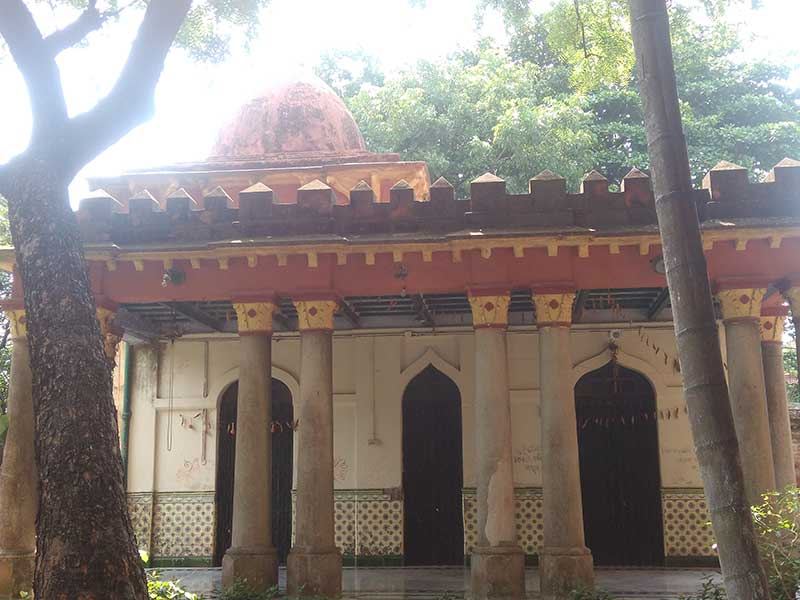 Dhurjati Dham - Shiva Temple at the backside