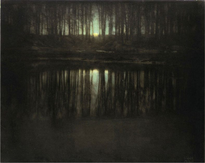 The Pond-Moonlight by Edward Steichen (1904)