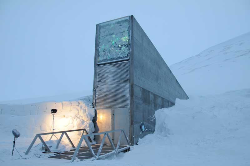 Svalbard Global Seed Vault, Norway