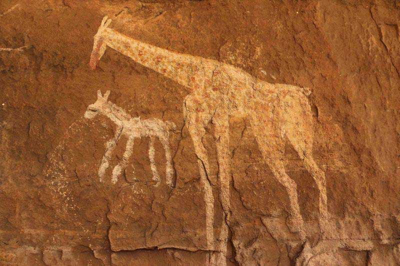 Tadant cave painting