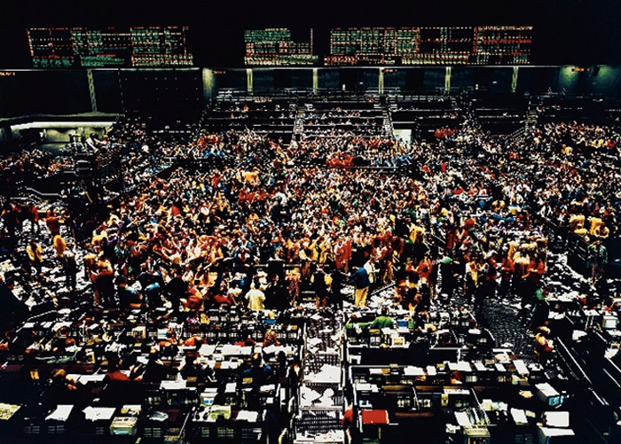 Chicago Board of Trade by Andreas Gursky (1997)