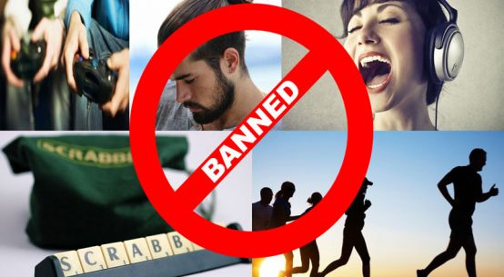 strange things that are banned