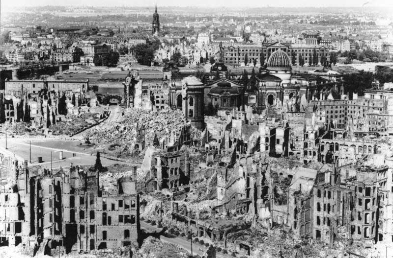 Dresden (October 1944-April 1945) – 25,000 killed