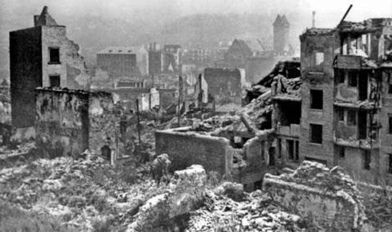 Pforzheim (April 1944-March 1945) – 21,000 killed