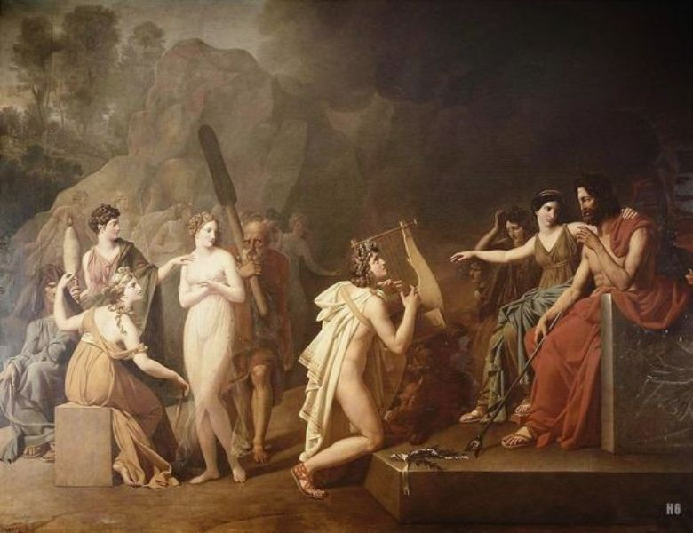 Serangeli Gioacchino (Italy 1768-1852) - Orpheus in the Underworld