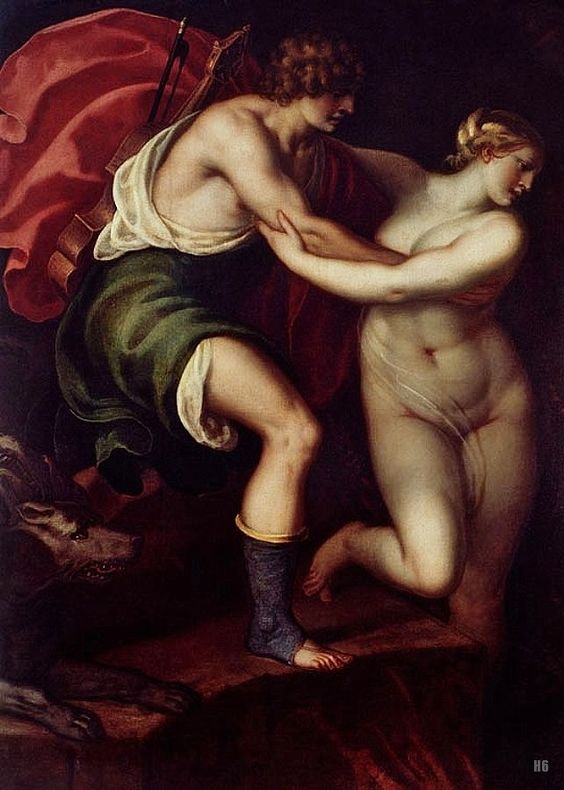 Varotari Alessandro (Italy 1588-1649) - Orpheus Leading Eurydice out of the Underworld
