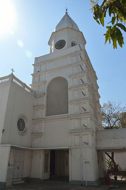 Armenian Church Kolkata - Clock Tower