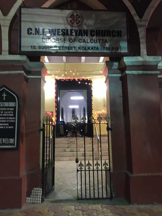 CNI Wesleyan Church Entrance